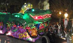Mardi Gras Traditions - Mardi Gras Floats at WomansDay.com - Woman's Day