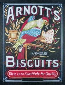 Arnott's Biscuits,,, all the good Aussie icons have been bought by America… Sydney, Brisbane, Melbourne, Australian Icons, Australian Vintage, Australian Birds, Australian Food, Vintage Tin Signs, Vintage Tins