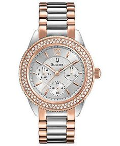 Bulova Watch--available at McGough  Company in Whitefish Montana (406) 862-9199