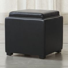 Put your feet up with stylish ottomans from Crate and Barrel. Shop for storage cubes and ottomans in a variety of sizes, styles and patterns.