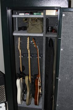 Safe Guitar Storage   My Les Paul Forums Guitar Storage, Guitar Display,  News Studio