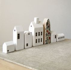 how to make clay mini house - Google Search