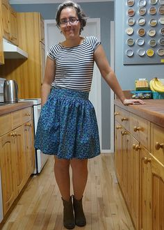 Heather's Clemence skirt