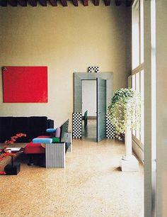 Ettore Sottsass and Aldo Cibic, Munari Apartment, 1983