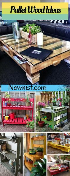 Thousands of Recycled Pallet Ideas - Newnist