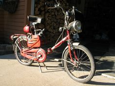 bianchi vintage motorbikes   Vintage Bianchi Moped