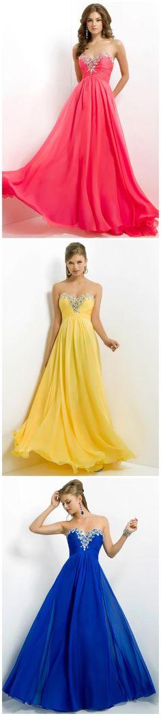 Charming Sweetheart Pleated Bodice Rhinestone Beaded Water Melon Prom Dress