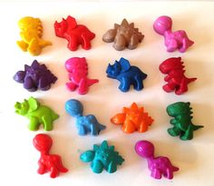 Our fabulous Dinosaur crayons would make a perfect birthday gift or party favour. Each crayon bucket includes 15 crayons in an assortment of vibrant