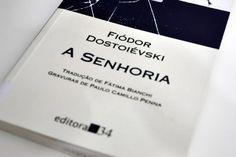 Livro: A Senhoria – Dostoiévski | #camilecarvalho