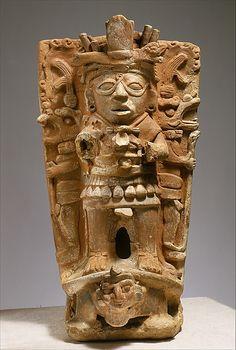 Censer Support  Date:     mid-7th–9th century Geography:     Mexico, Mesoamerica Culture:     Maya Medium:     Ceramic MET
