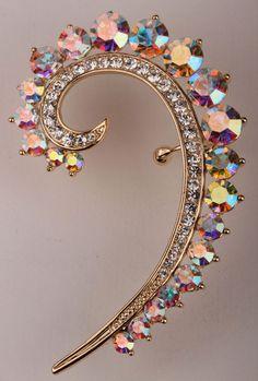 Aliexpress.com: Koop Links oor wrap manchet oorbellen voor vrouwen goud & verzilverd oostenrijkse kristal punk sieraden 2015 top fashion SC44 van betrouwbare oorbel gietstukken leveranciers op Jewels Trend