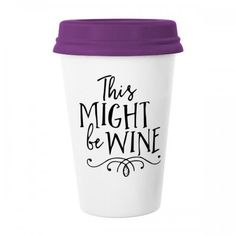 This Might Be Wine Lace Font Words Quotes Creative Design Classic Mug White Pottery Ceramic Cup Milk Coffee Cup 350 ml #Mug #Words #Cup #Wine #Beermug #LaceFont #Coffeemug #Quotes #Coffeecup #Creative #Caneca #Design #Teacup #Milkcup #CeramicMug #BirthdayGift
