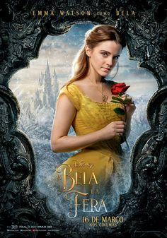 Disney has released character posters for its upcoming live-action musical Beauty and the Beast. The film, a remake of the animated classic, stars Emma Watson as Belle. She is joined by Dan Stevens as the […] Disney Belle, Film Disney, Disney Movies, Ariel Disney, Disney Wiki, Beauty And The Best, Belle Beauty And The Beast, Beauty Beast, Beauty And The Beast Movie 2017
