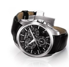 Tissot Black Watches of Swiss