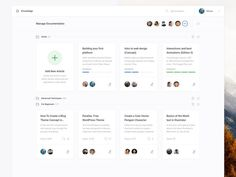 Manage Documentation (Dashboard UI Kit 3.0) designed by Jan Losert. Connect with them on Dribbble; the global community for designers and creative professionals.