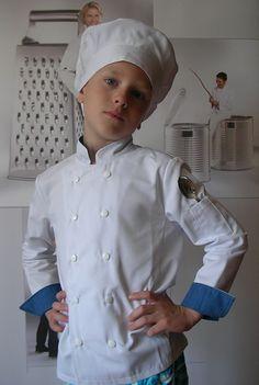 Bluza kucharska dla dzieci www.kitle.pl Chef Jackets, Fashion, Moda, Fashion Styles, Fashion Illustrations