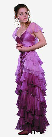 hermione yule ball dress- Harry Potter bridesmaid