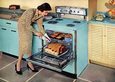 1950S Oven | 50s Retro Kitchen Products | eHow.com