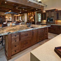 Gorgeous craftsman kitchen cabinets