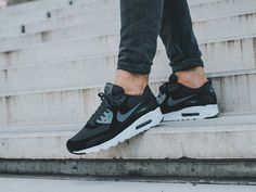 1beda6aa38 Nike Air Max 90 Ultra Essential Black Cool Grey Anthracite Men's Shoes - Landau  Store - Product Review - May 27, 2019