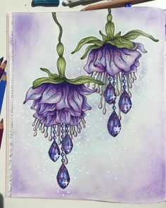 Finished! art #pencil #coloring #coloringpencil #drawing #aquarel #creative #artist #adultcoloringbook #color #colour #artwork #doodle #kunst #kleur #kleurbook #colouringforadults #colourfull #insta #purple #hannakarlzon #hanna #karlzon #zwoelezomeravonden #zwoele #zomeravonden #flowers