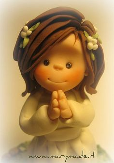 Cake topper for a little girl   Flickr - Photo Sharing!