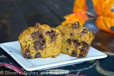 Pumpkin Chocolate Chip Muffins 4_