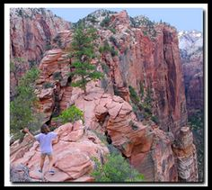 The Angels Landing Trail is one of the most famous and thrilling hikes in the national park system, Zion National Park.
