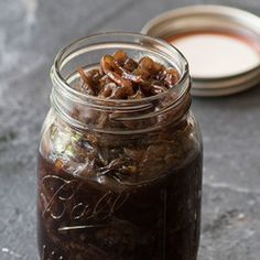 Caramelised Onions with Balsamic Vinegar Do make the onions well in advance, up to 2 weeks, and store in the fridge use when nee. Vinegar Cucumbers, Pickling Cucumbers, Balsamic Onions, Balsamic Vinegar, Vodka Potato, Garlic Infused Olive Oil, Pickle Vodka, Best Pickles, Garlic