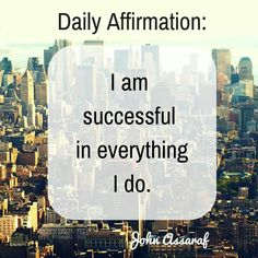 I am Law of Attraction Positive Mantras, Positive Messages, Positive Thoughts, Positive Vibes, Wealth Affirmations, Positive Affirmations, John Assaraf, Motivational Quotes, Inspirational Quotes