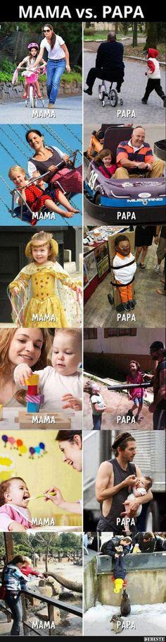 Read Mama vs papa from the story Memes by saz_wppm with reads. humor, memes, Por cualquier cosa esto no es un meme Really Funny Memes, Stupid Funny Memes, Funny Relatable Memes, Haha Funny, Hilarious, Memes Humor, Humor Humour, Humor Mexicano, Animal Jokes