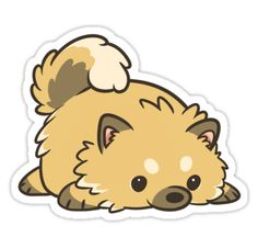 Part of my dog breed stickers collection. Keep an eye open for more! • Also buy this artwork on stickers.