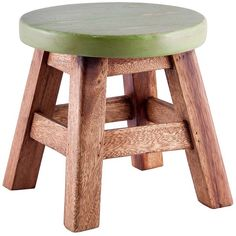 Home Essentials and Beyond Walnut/Green Stool ($17) ❤ liked on Polyvore featuring home, furniture, stools, green, walnut furniture, modern home furniture, green colored stool, modern furniture and walnut stool