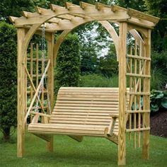 Roman Arbor Swing| Porch Swings | Gazebo Depot