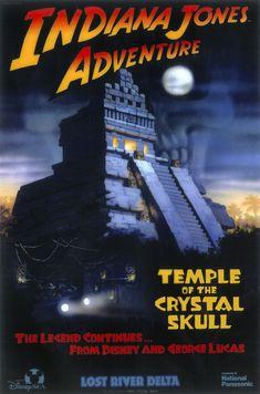 Indiana Jones Adventure: Temple of the Crystal Skull, Tokyo DisneySea