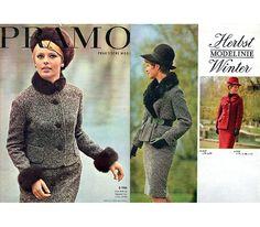 """Vintage Schnittmuster - 1966 Schnittmusterheft """"Pramo"""" - ein Designerstück von Kostuemkram bei DaWanda"""