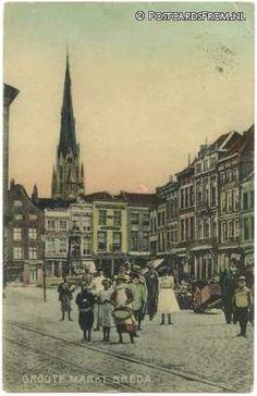 Breda, Groote Markt 1908