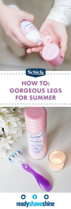 Give your legs a little extra attention by checking out this guide for getting Summer Ready! By pairing the Schick Hydro Silk® Razor with Skintimate® Shave Gel, you have the perfect combination for beautifully smooth skin. After picking up these moisturizing essentials at Kroger, you'll be ready to show off your favorite seasonal dresses, skirts, and shorts. Ready, Shave, Shine this summer!