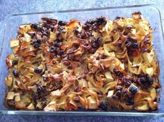 What is 'noodle kugel'? I never heard of it until I was about twelve, and that was only because my awesome Jewish neighbor had made a fresh batch. After tasting one spoonful of this warm, puffy,. Apple Kugel Recipe, Cinnamon Apples, Macaroni And Cheese, Noodles, Fresh, Ethnic Recipes, Food, Macaroni, Mac And Cheese