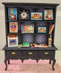 Dollhouse Miniature Halloween Furniture by LaBoutiqueRueDeParis