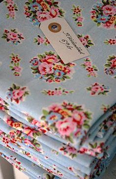 vintage fabric i love...cottage