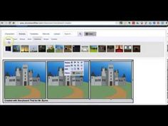 Storyboard Creator para planificar y crear historias digitales.