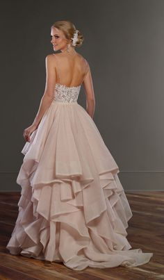 Martina Liana wedding dress; click to see more dresses from this collection.