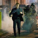 "Liam Hemsworth films running scenes for ""Paranoia"" in alleyway in Philadelphia, PA. http://www.starsightings.com/photo/view/113336/2012/02/08/Liam-Hemsworth-Philadelphia,-Pennsylvania-Filming-on-set.html"