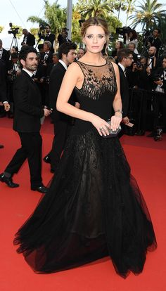 Mischa Barton // The famous French film festival never lacks for fabulous fashion