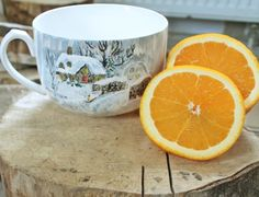 RĘCZNIE MALOWANY KUBEK - ZIMA Mugs, Tableware, Art, Art Background, Dinnerware, Tumblers, Tablewares, Kunst, Mug
