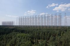 DUGA Radar Array near Chernobyl, Ukraine 2014 - Duga-3