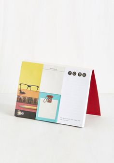 Kick your organizational skills into high gear with these sticky notes from Chronicle Books! Featuring stickies for due dates, to-dos, and keeping tabs on important pages - each with a unique retro design - this set makes easy 'stickings' out of being a go-getter!