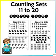 These worksheets are designed to give children practice counting, identifying, and writing the numbers 11-20. These worksheets also provide a motivational resource for teachers to send home as practice after school.The set is printer-friendly as all items are in black and white. The worksheets are i... Teacher Resources, School Resources, Classroom Resources, Classroom Organization, Classroom Management, Worksheets, Character Education, Elementary Education, School Counseling