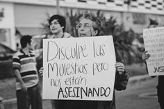 "lucha feminista | Tumblr  ""Sorry for the inconvenience, we are being murdered"""
